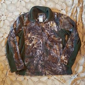 Camo fleece Realtree zip jacket